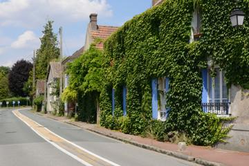 France, the picturesque village of  Bourdonne
