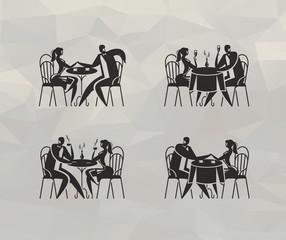 Restaurant. Vector format