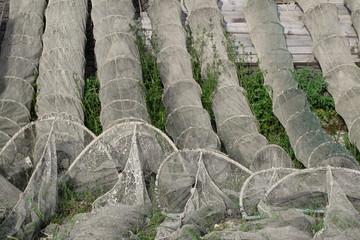 bertovello rete da pesca per fiume