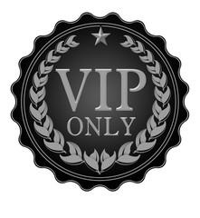 vip only black