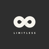 Limitless Vector Concept Symbol Icon or Logo Template poster