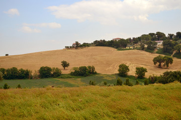 Landschaft in den Marken - Italien