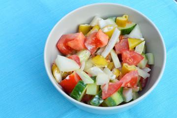 heerlijke pittige salade