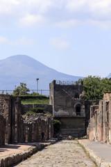 Turm des Mercur in Pompeji - via mercurio