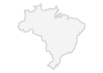 brezilya haritası