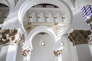 Santa María la Blanca is a temple located in the Spanish city o