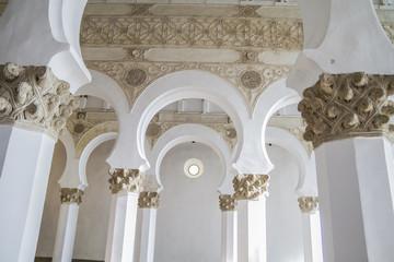 Arch, Santa María la Blanca is a temple located in the Spanish