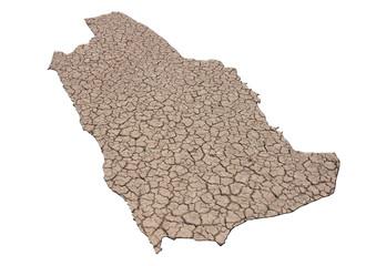 kuruyan suudi arabistan toprağı