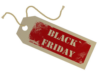 Black Friday tag