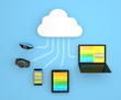 Healthcare monitoring solution  by cloud computing