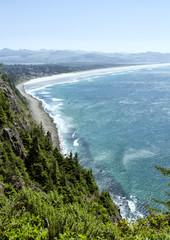 Nehalem beach from Oswald west state park Oregon