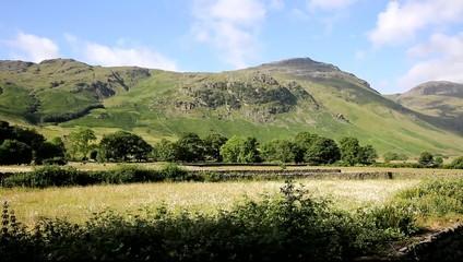 Beautiful Lake District river Mickleden Beck Langdale Valley
