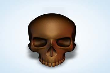 Brown Skull Series II