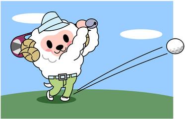 ひつじゴルフ