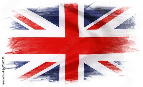 Leinwandbild Motiv Union Jack