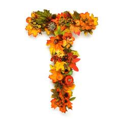 Autumn alphabet