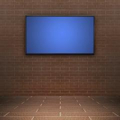 Modern TV screen