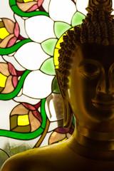 Backlit Buddha