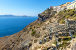 Obrazy na płótnie, fototapety, zdjęcia, fotoobrazy drukowane : Cable Car In  Fira In Santorini, Greece