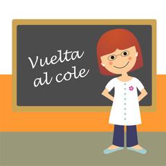 Profesora Vuelta al cole