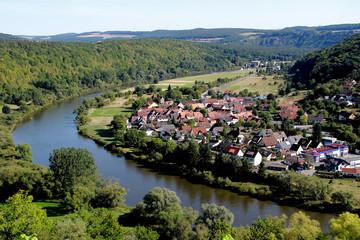 Wertheim-Eichel Gesamtansicht