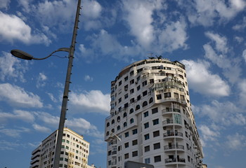 Immeubles blancs, Maroc