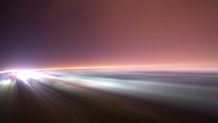 light rays and night of jeddah time lapse with blurs