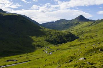 Berglandschaft Norwegen/Skandinavien