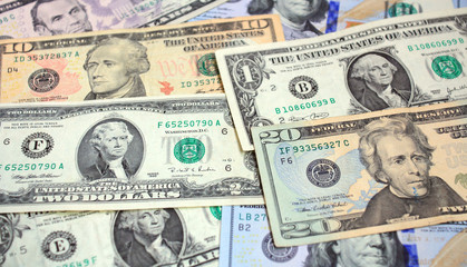 dollars, money background