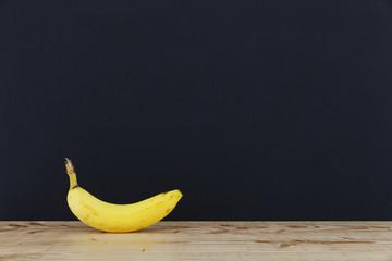 Tafel mit Banane