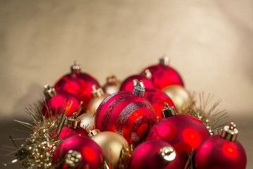 Picture of christmas christmas balls.