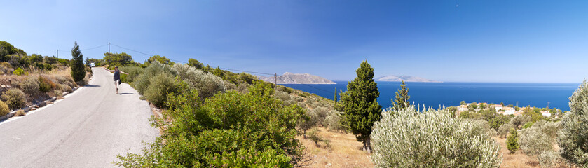 Panorama of Samos
