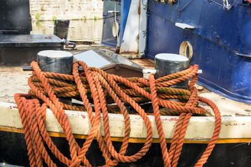 Orange rope
