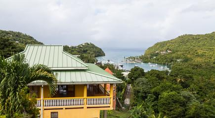 Building Overlooking Marigot Bay