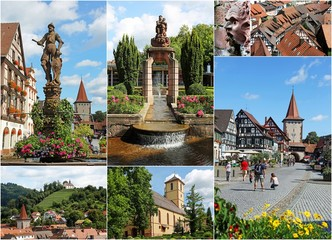 Gengenbach Collage