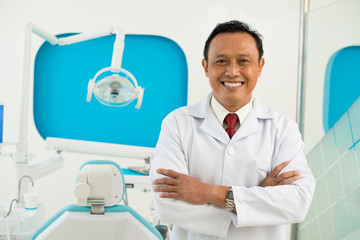 Asian dentist