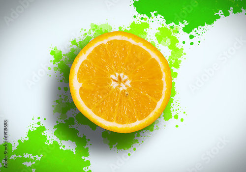 canvas print picture Refreshing juice
