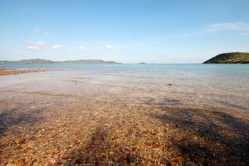 Sea beach in morning