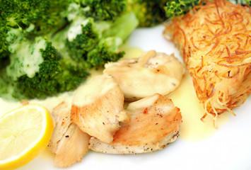 Hähnchenbrust mit Brokkoli