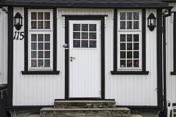 Hauseingang in Norwegen