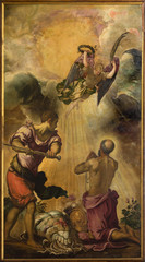 Venice - Decapitation of st. Paul by Tintoretto