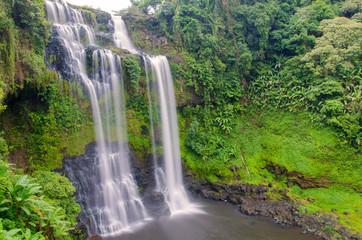 Tad Gneuang Waterfall, Paksa Champasak South Laos.