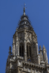 spirituality, facade of the Cathedral of Toledo, Spain