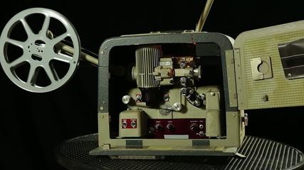 Nostalgischer Filmprojektor