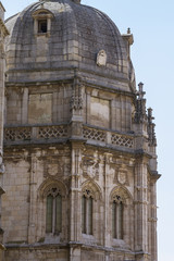 heritage, facade of the Cathedral of Toledo, Spain