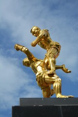 Thai Boxing Monument