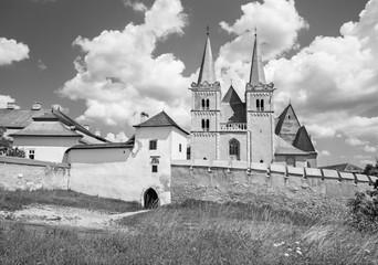Spisska Kapitula - Saint Martins gothic cathedral and wall
