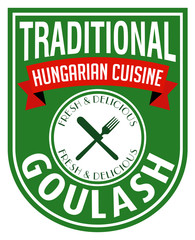 goulash label