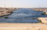 Aswan Dam. The High Dam. Aswan, Egypt.