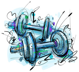 Dumbbell Drawing